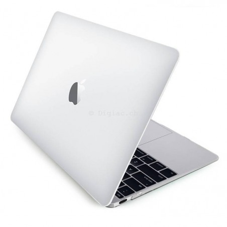 "MacBook 12"" - Coque ultra slim 1mm transparente devant et derrière"