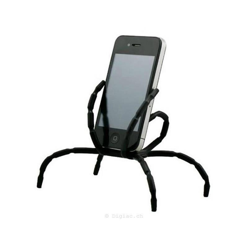 Support fléxible Spider smartphone support vélo voiture etc