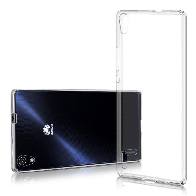 Huawei Ascend P7-Coque en TPU 0.5mm Anti-Poussière