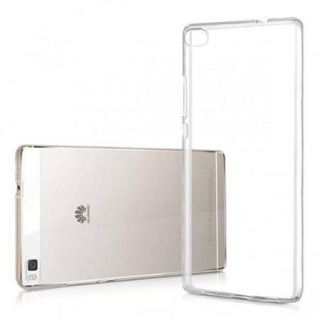 Huawei P8-Coque en TPU transparente Anti-Poussière