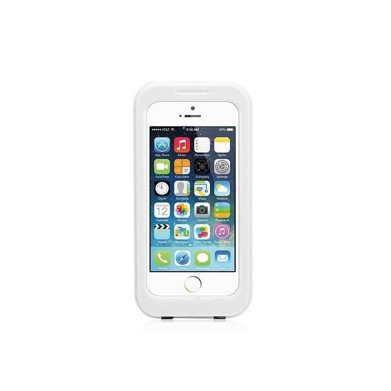 Coque caisson étanche écran tactile iPhone 6 (4.7) -Blanc