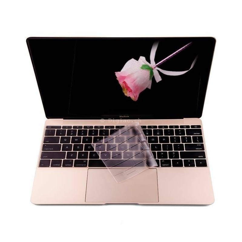 Protection clavier TPU ultra fine pour Macbook 12''