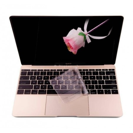 Macbook 12''-Protection clavier TPU ultra fine
