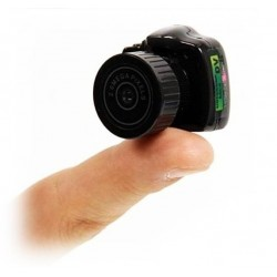 Appareil photo DVR Mini caméra le plus petit - Mini DV Video Recorder numérique minuscule 30FPS Audio & Video Mic