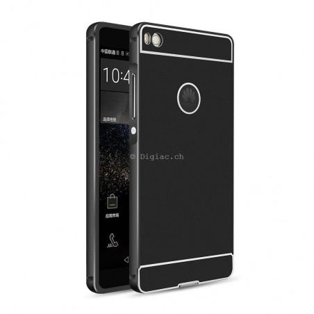 Huawei P8 - Coque métallique ultra slim + paroi arrière PC