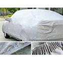Housse bâche grise épaisse pour voiture - 2L pour Picasso, Peugeot 307,Volve C30, Citroën C4