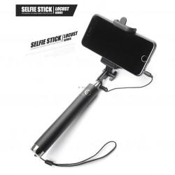 Selfie stick perche avec bouton auto portrait - Ultra compact
