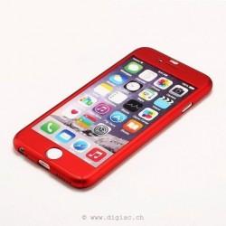 iphone 6 plus/6s plus - coque toute couverte+verre trempé iPaky®