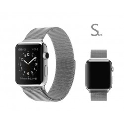 Milanese-Stil silber Armband for Apple-Watch-42mm