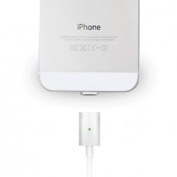 Câble Smart Adsorption chargeur lightning Magnetique pour iphone 5/6 iPad 4 iPad Air 1/2