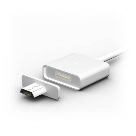 Câble chargeur adsorption Magnetique pour android micro USB samsung galaxy HTC Huawei Sony