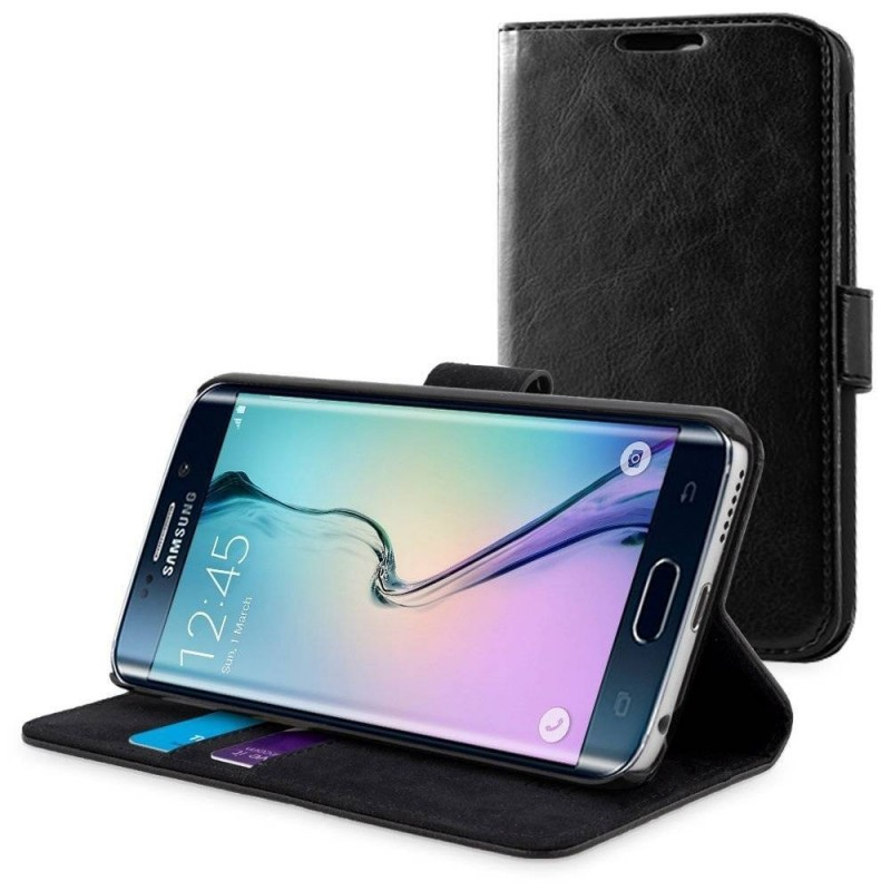 Galaxy S6 edge - Etui support portefeuille