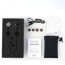 Remax® écouteurs Magnet Sports Bluetooth 4.1 sans fil avec télécommande et micro RM-S2