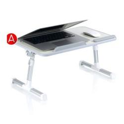 Support pliable notebook tablette repas hauteur réglable