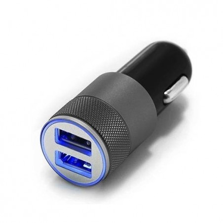 Chargeur câble de 2 mètres plus allume cigare double USB