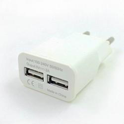Prise chargeur secteur 2 ports USB