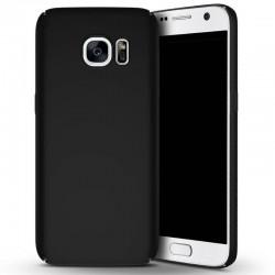Samsung galaxy S7 - coque rigide mate noir anti choc