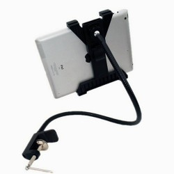 Bras support Rotatif flexible col de cygne ajustable de bureau Support de montage Tablette PC