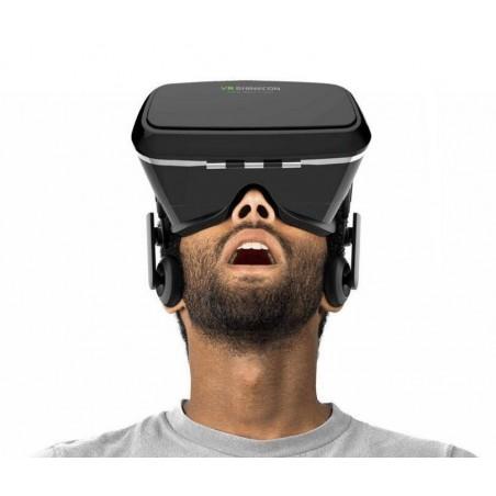 Lunettes/Casque de réalité virtuelle vidéo Film Jeu 3D avec Bandeau réglable