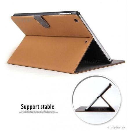 iPad pro 9.7'' - étui de luxe en suédine rétro