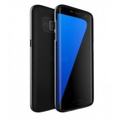 Galaxy S7 edge - Coque solide en TPU+PC