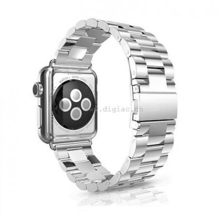 Bracelet Polissage inoxydable pour Apple watch 42mm -argent(sliver)