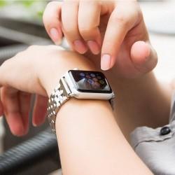 Bracelet Polissage inoxydable pour Apple watch 42mm -sliver