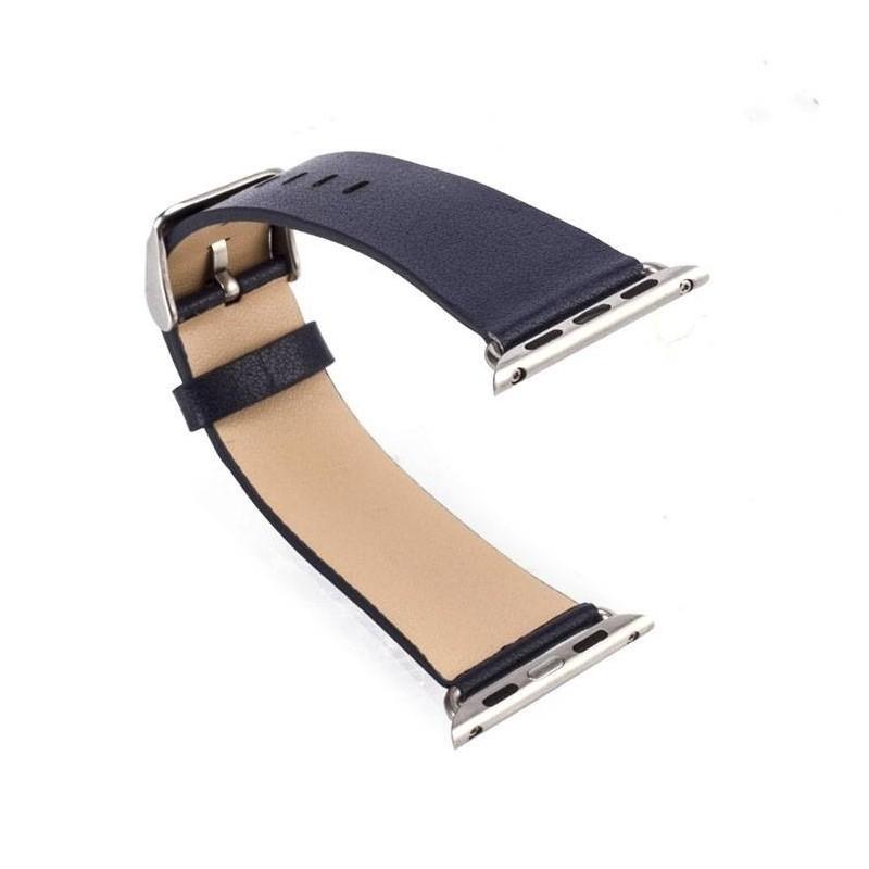 Apple Watch 38mm-Bracelet CUIR avec adaptateurs