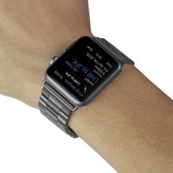 Brcelet Apple Watch 42mm en aluminium - Noir