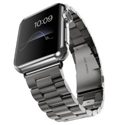Brcelet Apple Watch 42mm en aluminium - Noir