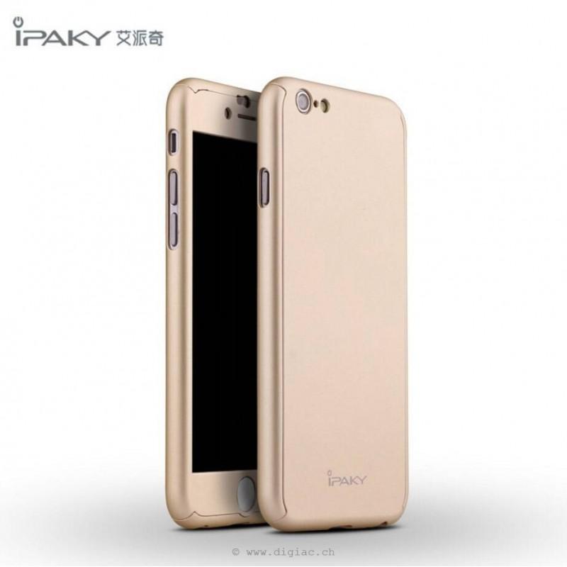 iphone 6s plus - coque toute couverte+verre trempé iPaky®