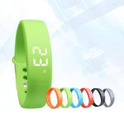 Bracelet Intelligent LED USB Sport santé poignet Smart Bracelet Silicone
