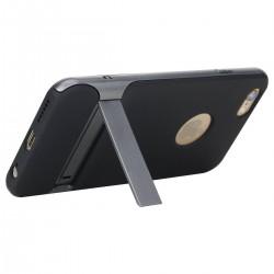 iPhone 6/6S-Etui coque ROCK avec béquille - Gris/Grau