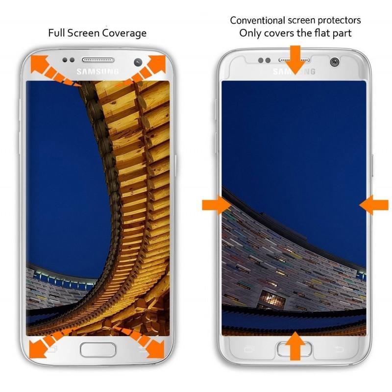 Samsung Galaxy S7 Film Protection d'écran en Verre Trempé