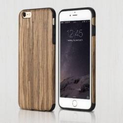 COQUE Rock iPhone 6/6s antichute EN BOIS