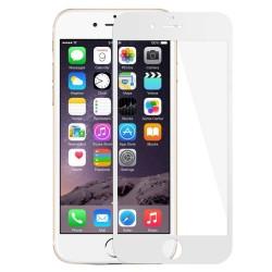 iPhone 6(s) - protection d'écran en verre trempé full cover