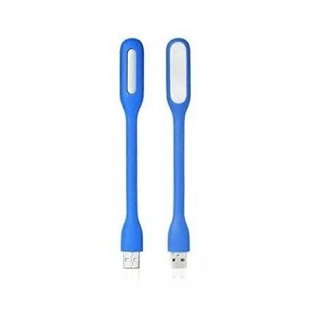 Mini Lampe LED USB Flexible Torche Batterie Externe Compatible MAC et PC