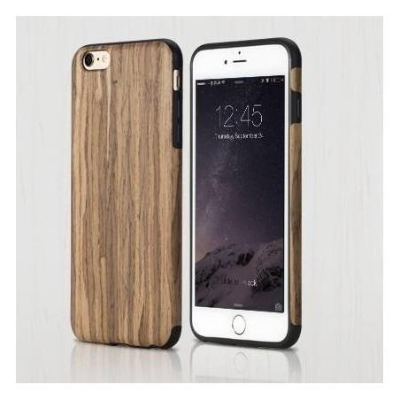 COQUE Rock® iPhone 6/6s plus antichute EN BOIS