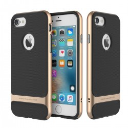 iPhone 7 - Coque Rock Royce double protection - Dorée