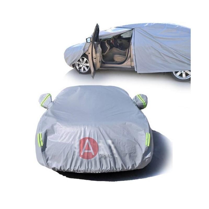 Housse b che grise paisse pour voiture 2s digiac for Housse pour automobile