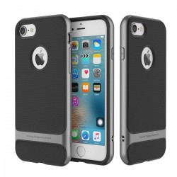 iPhone 7 plus - Coque Rock Royce double protection - Grise