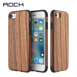 iPhone 7 plus -COQUE Rock® antichute EN BOIS