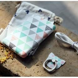 Batterie secours 10000mAh Power bank TULA support offert Batterie Portable de Secours Externe - Amour triangle