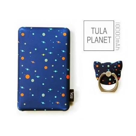 Batterie secours 10000mha Power bank TULA support offert Batterie Portable de Secours Externe -Tula planet