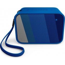 Philips Haut-parleur Bluetooth & portable BT110A -Bleu