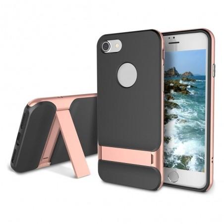 iPhone 7 plus - Coque Rock Royce avec béquille - Rose