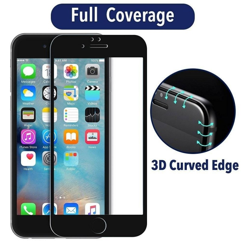 Iphone 7 plus 3d film protection plein ecran en verre for Plein ecran photo mac