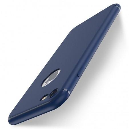 iPhone 7-coque souple mate ultra fine protection caméra-noir