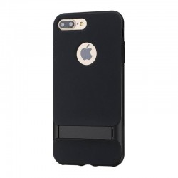 iphone 7 plus-Coque Rock Royce béquille-Noir brillant