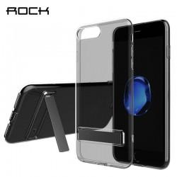 iPhone 7 plus - Etui coque ROCK avec béquille - Transparente